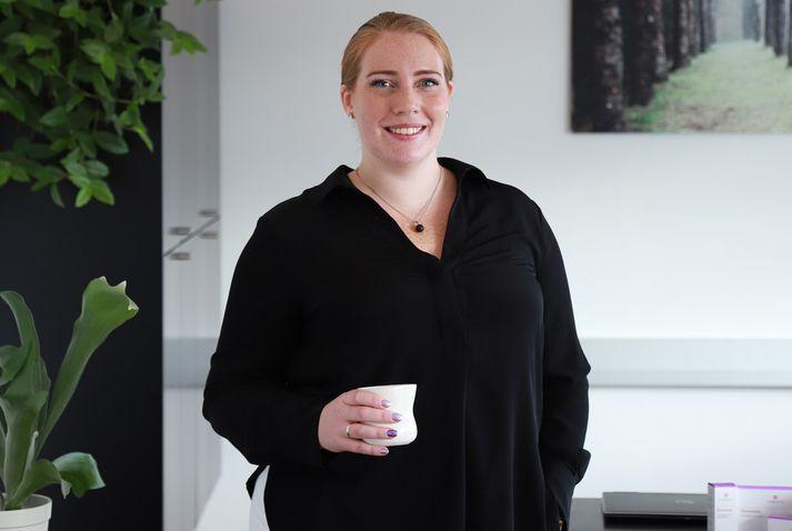 Sandra Mjöll Jónsdóttir-Buch, doktor í líf- og læknavísindum og vörustjóri Florealis.