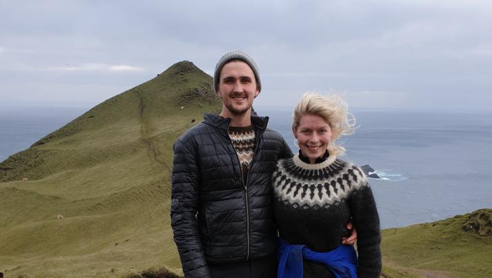 Bjarni Karlsson og Hörn Halldórudóttir Heiðarsdóttir.