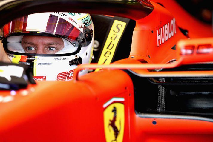 Vettel hefur ekki enn náð sigri á árinu