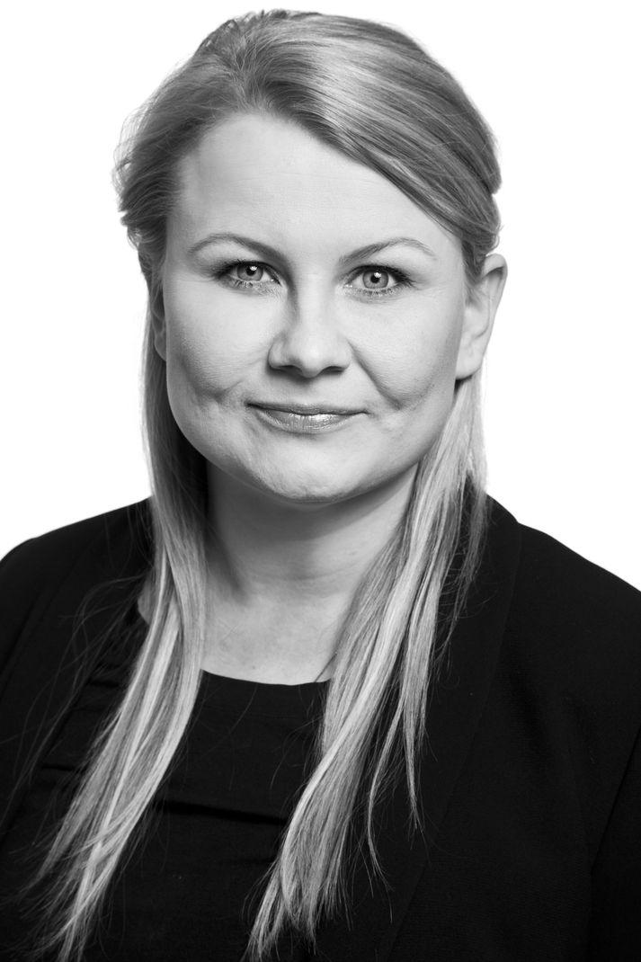 Kristín Ögmundsdóttir, nýr framkvæmdastjóri Borgarleikhússins.
