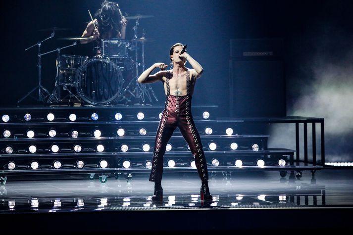 Ítalía vann Eurovision.