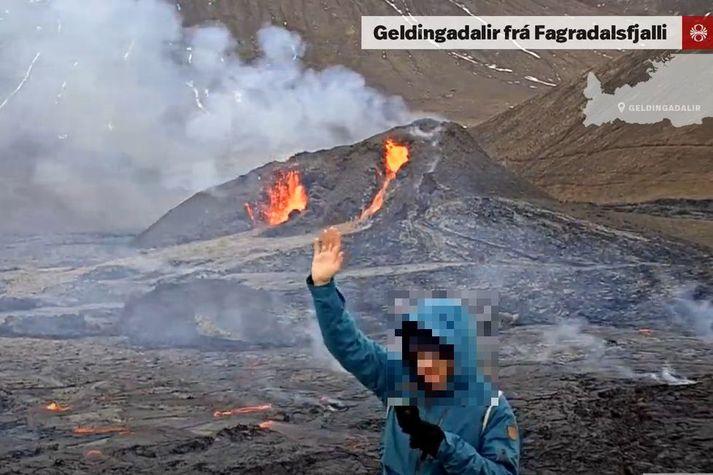 Ætla má að þessi maður sé ekki ýkja vinsæll hjá meðlimum hins nýja Facebook-hóps.