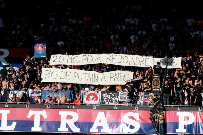 Stuðningsmenn PSG veita engan afslátt