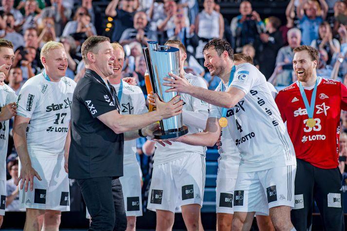 Kiel er handhafi EHF bikarsins í ár