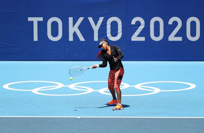 Naomi Osaka er klár í sína fyrstu Ólympíuleika.