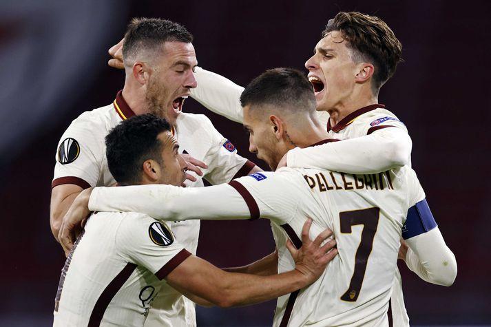 Roma kom til baka og vann 2-1 sigur á Ajax í Hollandi.