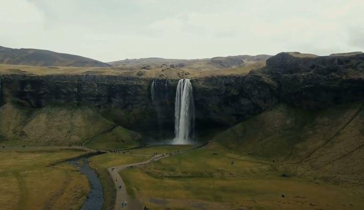Það hafa eflaust flestir Íslendingar séð Seljalandsfoss.