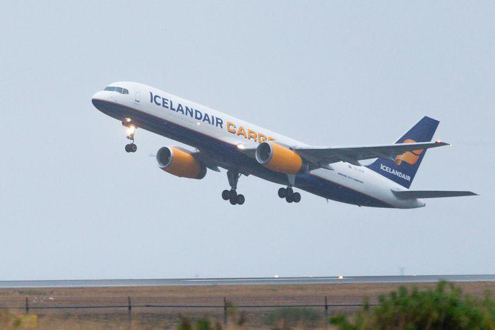 Icelandair Cargo hefur starfað með DHL í áraraðir.