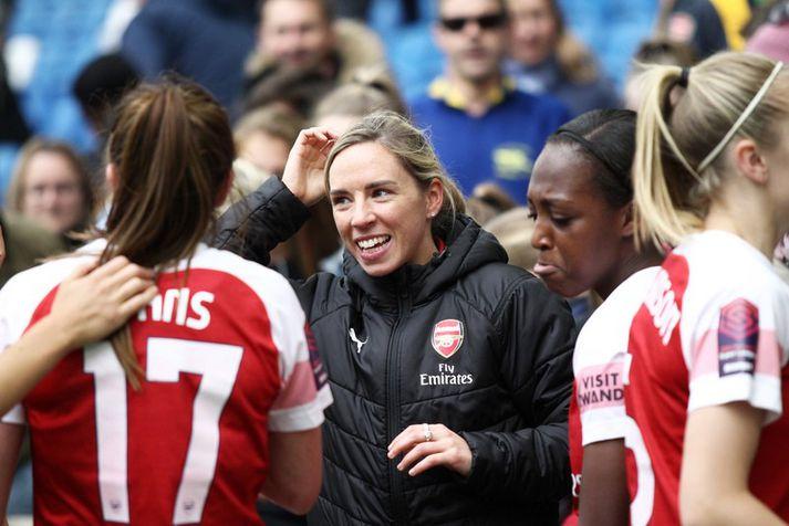Jordan Nobbs missti af stærstu hluta tímabilsins með Arsenal og missir líka af HM í Frakklandi í sumar.