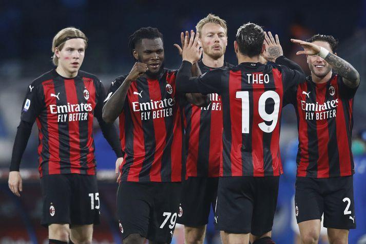 AC Milan trónir á toppi ítölsku úrvalsdeildarinnar.