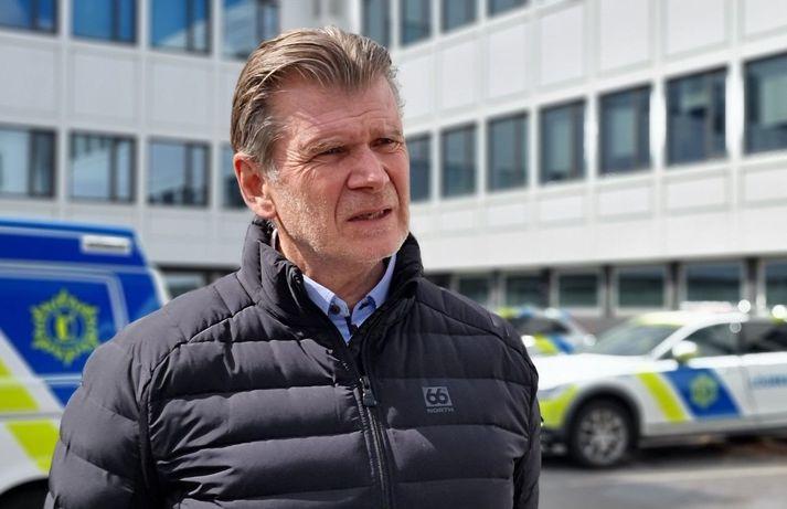 Grímur Grímsson yfirlögregluþjónn miðlægrar rannsóknardeildar lögreglunnar á höfuðborgarsvæðinum.