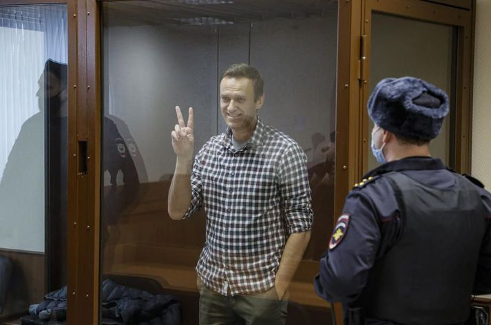 Alexei Navalní hefur nú verið í hungurverkfalli í rúmar tvær vikur.