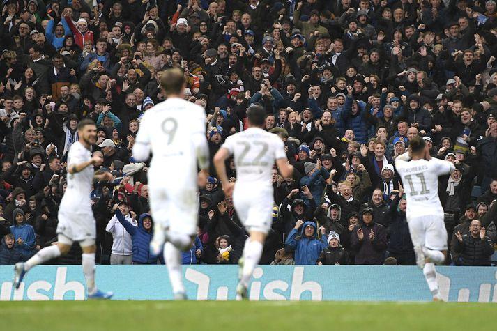 Það fer að styttast í að stuðningsfólk Leeds United geti mætt á völlinn og séð lið sitt spila í ensku úrvalsdeildinni.