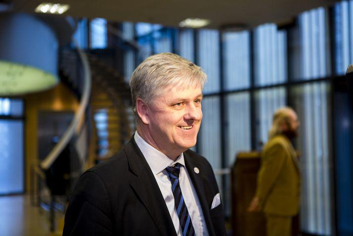 Benedikt Jóhannesson, fyrrverandi fjármálaráðherra.