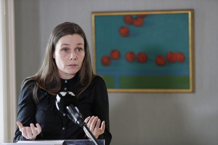 Katrín Jakobsdóttir, forsætisráðherra,
