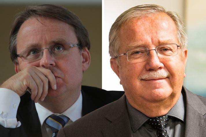 Benedikt Bogason og Jón Steinar Gunnlaugsson.