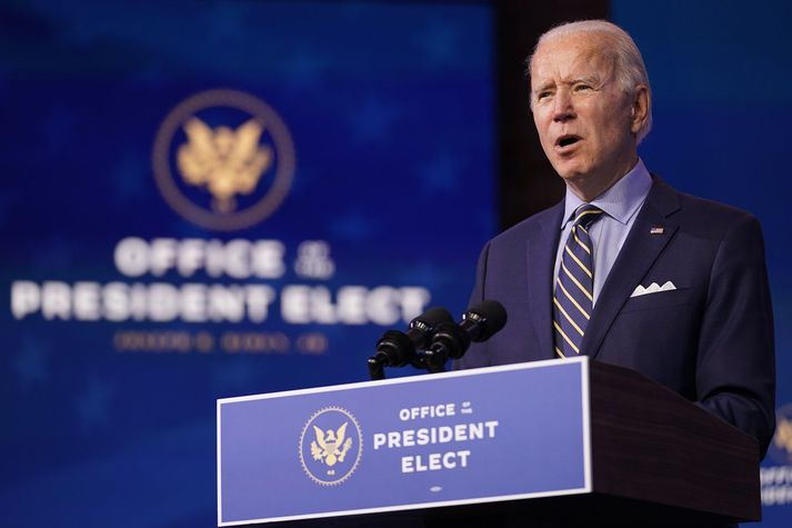 Joe Biden, verðandi forseti Bandaríkjanna.