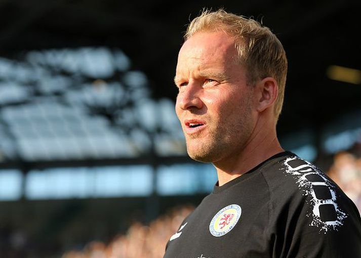 Henrik Pedersen er hann stýrði Braunschweig.