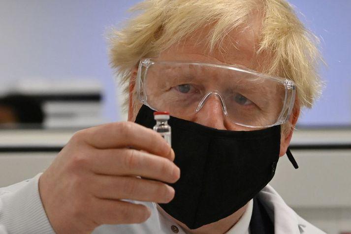 Boris vill flýta bólusetningum.