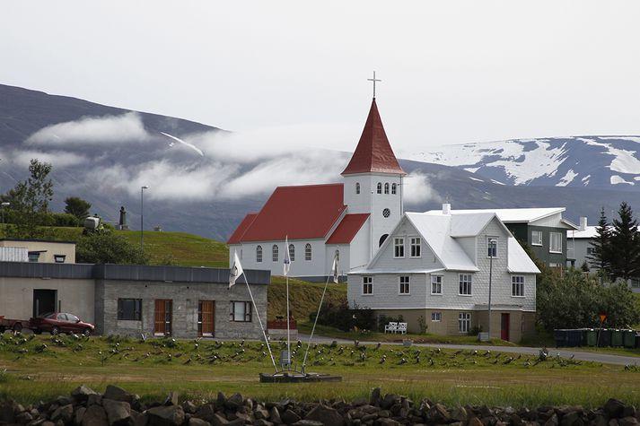 Hrísey virðist vera vannýttur ferðamannastaður