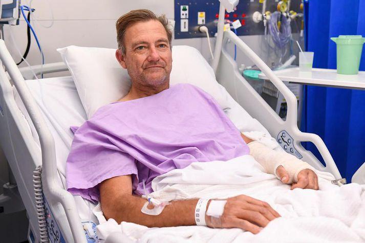 Hinn 54 ára Neil Parker er margreyndur útivistarmaður.