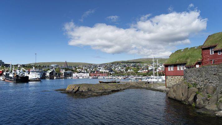Frá Þórshöfn í Færeyjum