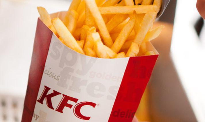Sitt sýnist hverjum um þær franskar sem boðið hefur verið upp á hjá KFC á Íslandi.