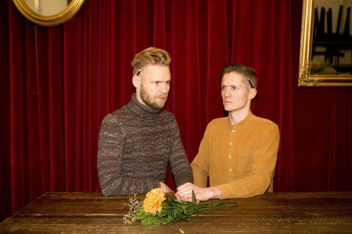 Arnar Ingi Viðarsson og Arnar Fells Gunnarsson reka saman hönnunarstofuna Arnar & Arnar.