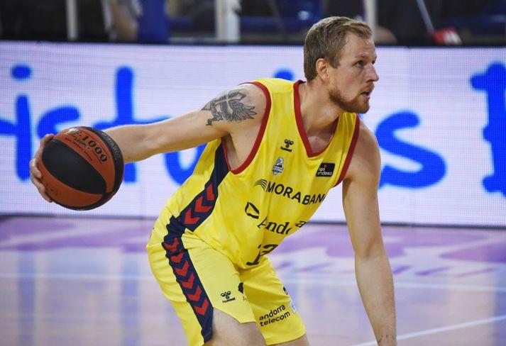 Haukur Helgi Pálsson verður ekki meira með Andorra á þessari leiiktíð.