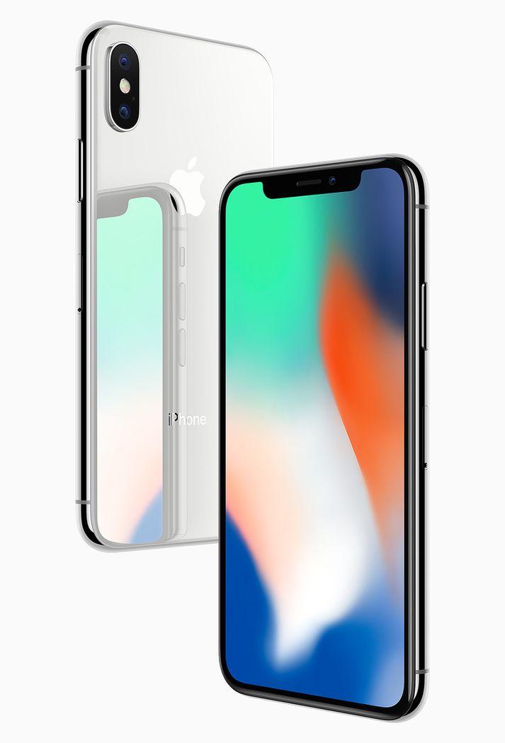 iPhone X er einkar laglegur sími, en Apple virðist vera í vandræðum með að koma honum í hendur neytenda.