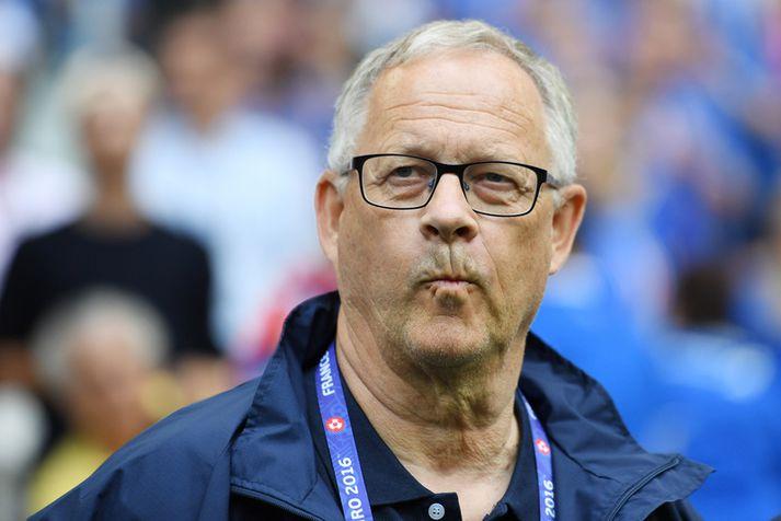 Lars Lagerbäck rýkur enn á ný upp FIFA-listann með landslið sitt.