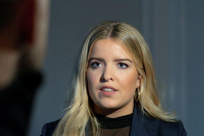 Áslaug Arna Sigurbjörnsdóttir, dómsmálaráðherra