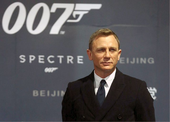 Daniel Craig hefur á undanförnum árum farið með hlutverk James Bond..