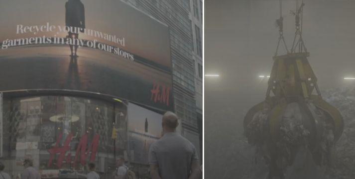 H&M hefur um árabil markaðssett sig á þann hátt að endurnýta og endurvinna eigi öll föt.