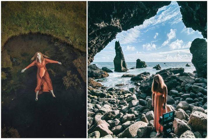 Vala Eiríks er vinsæl útvarpskona á FM957. Hún sendir nú frá sér fyrsta sóló verkefnið, lagið Dulúð fylgir dögun.