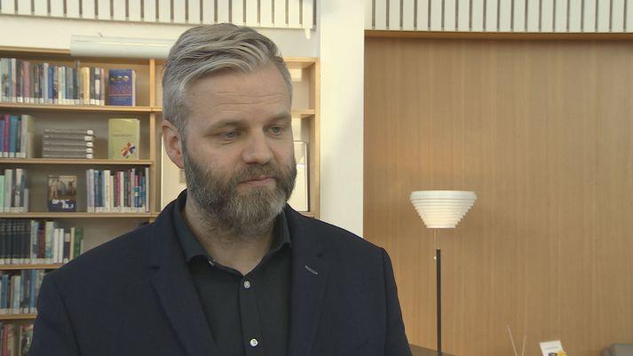 Þorsteinn R. Hermannsson, samgöngustjóri Reykjavíkurborgar.
