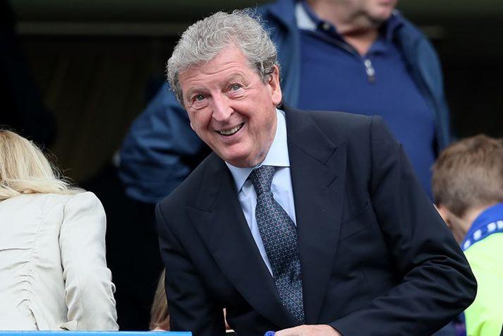 Roy Hodgson er mættur til starfa á nýjan leik.