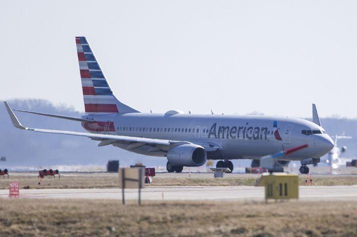 American Airlines er á meðal þeirra bandarísku flugfélaga sem taka sjálfviljug þátt í áætluninni um samdrátt í losun.