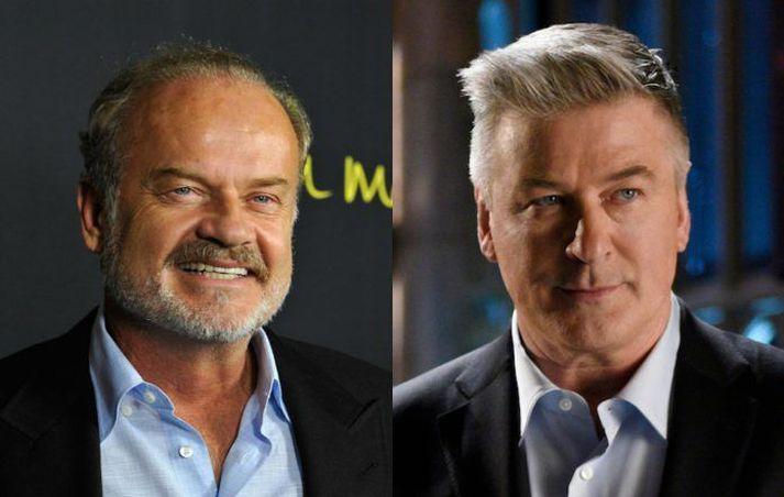 Frasier Crane og Jack Donaghy leiða saman hesta sína.