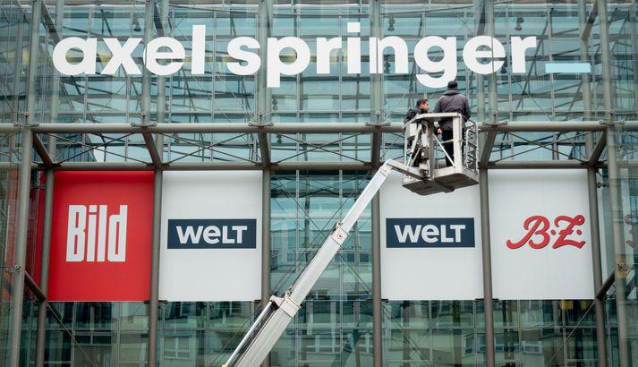 Axel Springer er stærsti útgefandi í Þýskalandi og hefur nú samið við sölu á efni til Facebook News.