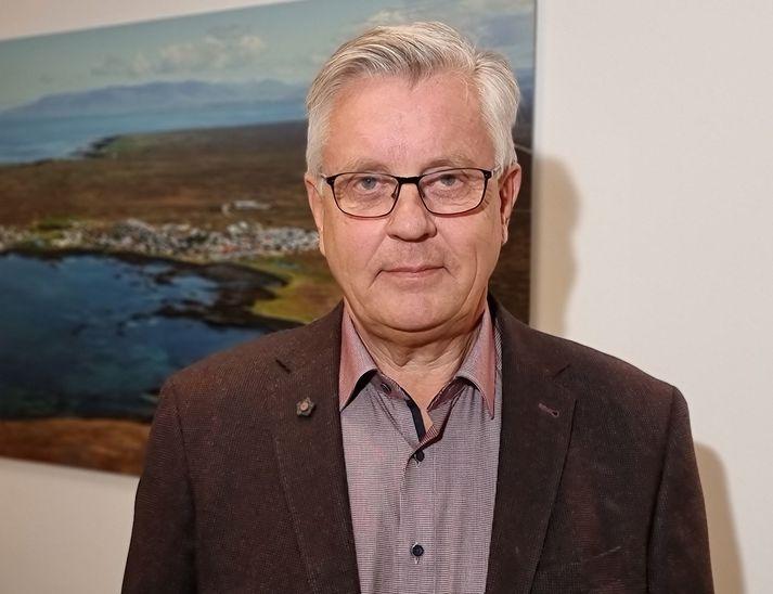 Ásgeir Eiríksson, bæjarstjóri í Vogum.