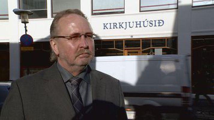 Oddur Einarsson, fyrrverandi framkvæmdastjóri Kirkjuráðs.