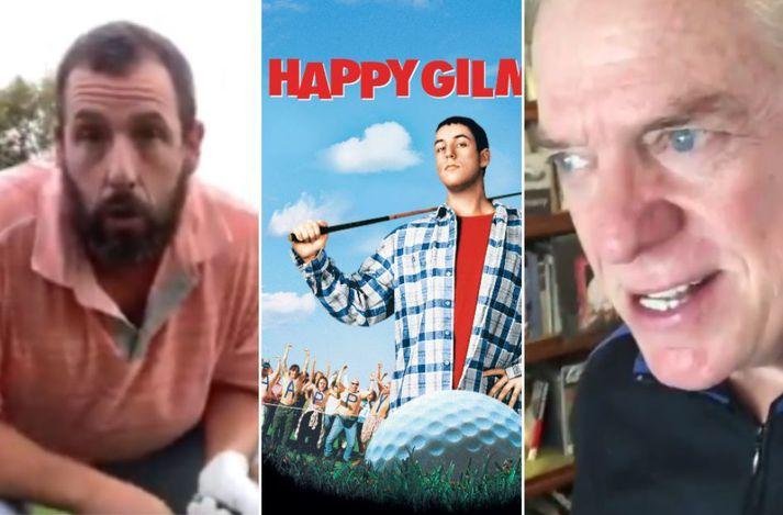 Happy Gilmore kom út árið 1996.