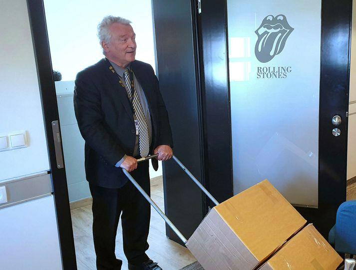 Ólafur Helgi Kjartansson, fyrrverandi lögreglustjóri á Suðurnesjum, er einn mesti aðdáandi Rolling Stones hér á landi.