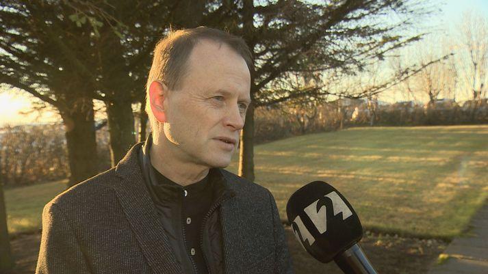 Halldór Björnsson, hópstjóri veðurs og loftslags hjá Veðurstofu Íslands.