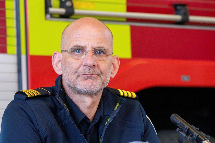 Jón Viðar Matthíasson, slökkvilisstjóri á höfuðborgarsvæðinu.