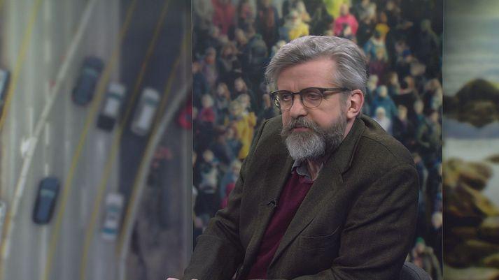 Gunnar Smári Egilsson er formaður framkvæmdastjórnar Sósíalistaflokksins.