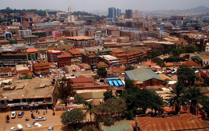 Kampala höfuðborg Úganda.