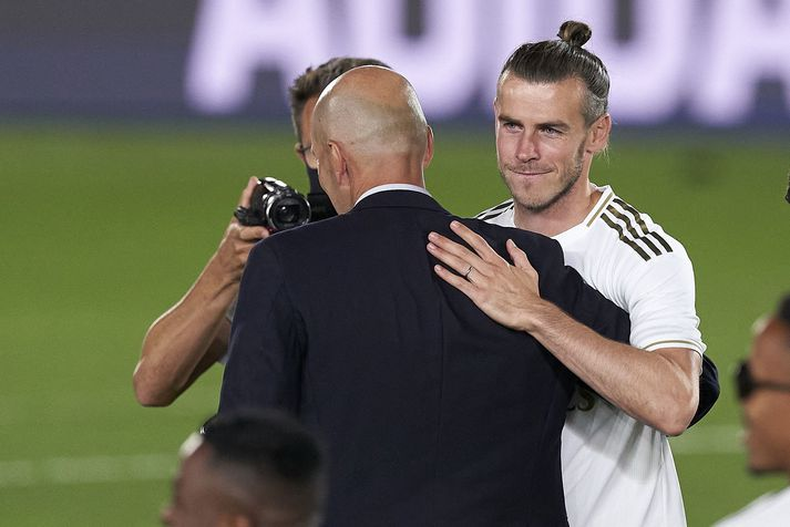 Bale sagði við Zidane að hann nennti ekki með í leikinn gegn City.