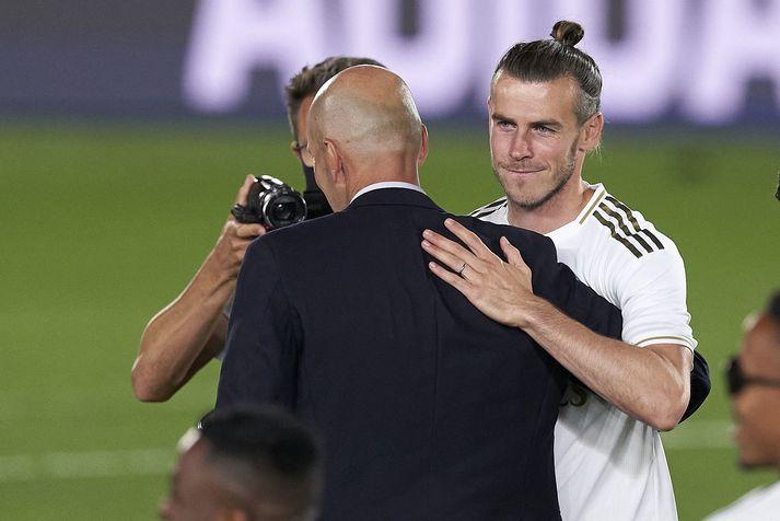 Zinedine Zidane vill ekki nota Gareth Bale hjá Real Madrid.